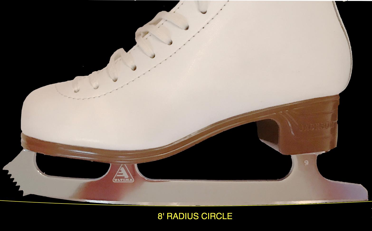 STEP Figure Skating Blades 99 similar Pattern 99   V-Steel