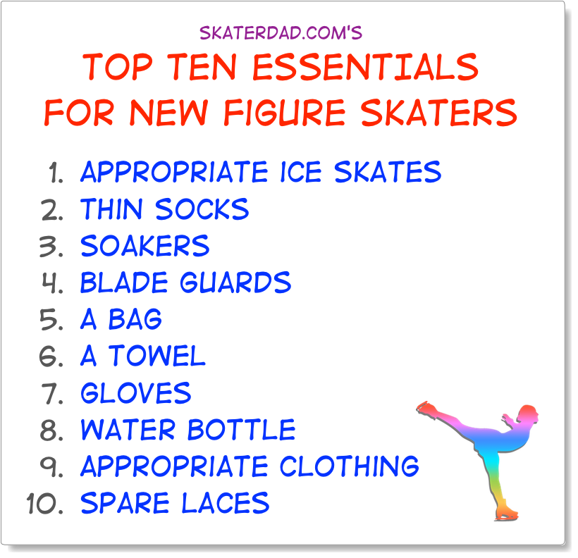 Figure Skater Essentials - Top Ten Must Haves