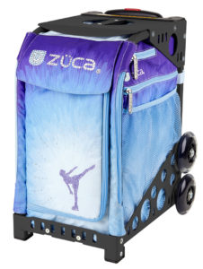 Zuca Ice Dreamz rolling Ice Skating Bag